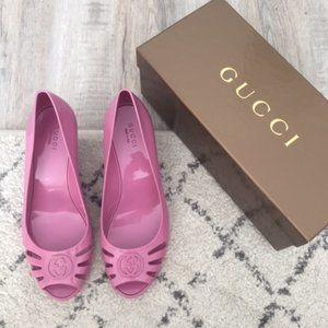 Gucci Jelly Wedges - Size 38